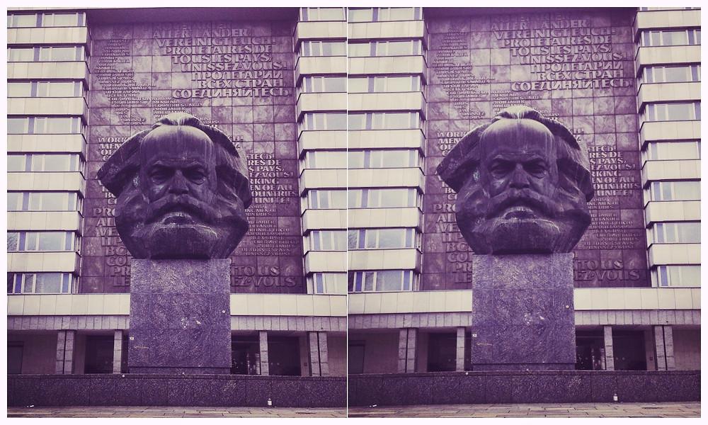 Karl Marx, Chemnitz, Karl-Marx-Stadt, hässlich, Blog, Leuk, Christin Otto