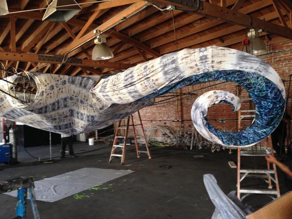 Kat Ford production design work for The Empty Vase, LA