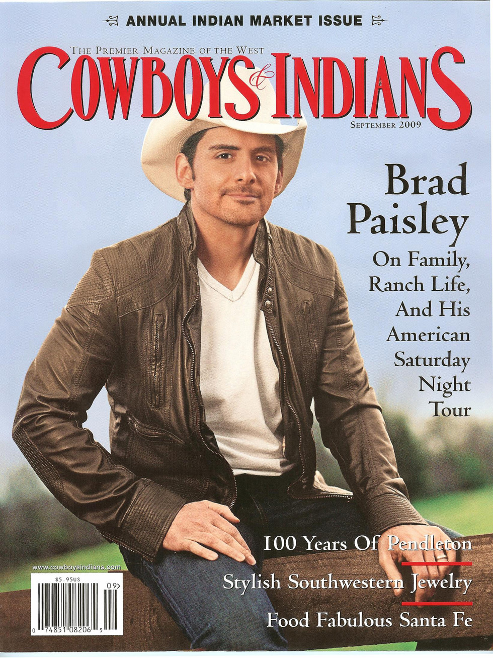 Cowboys and Indians Cover September 2009.jpg