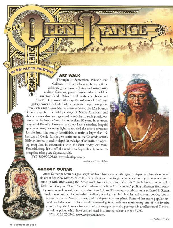 Cowboys and Indians Open Range September 2009.jpg