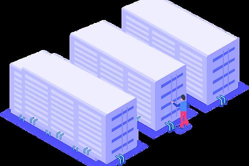 Container (livraison avril)+ Hosting