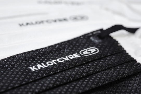 kalorcare curved adult disposable face m