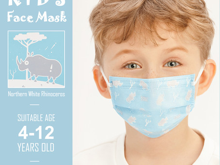 Disposable Face Mask for Kids on Sale at Amazon.com