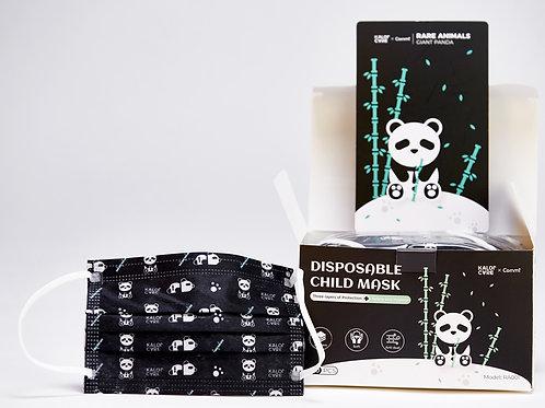 50 PCs Kids Face Mask Disposable - Cartoon Pattern (Panda)