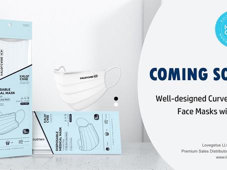 KalorCare Curved Edge Face Mask