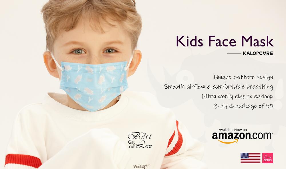 KalorCare Unique Fashion Face Mask for Kids