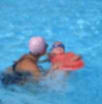 Teaching to swim