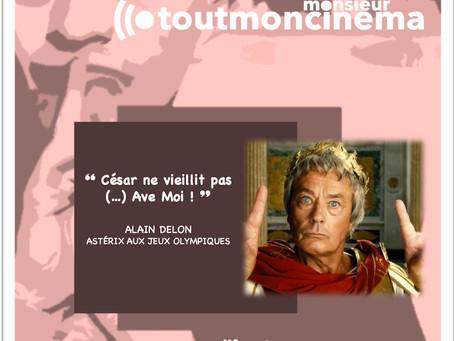 """monsieur toutmoncinema - L'inoubliable """"Ave Moi !"""" d'un Alain Delon en César ..."""