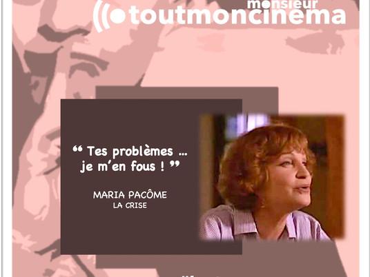 """monsieur toutmoncinema """"Tes problèmes ... je m'en fous !"""" (La Crise)"""