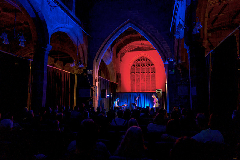 It was an honour to welcome Roddy Woomble back to St Mary's Creative Space!