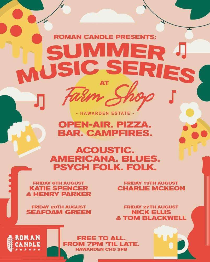 SUMMER MUSIC SERIES!