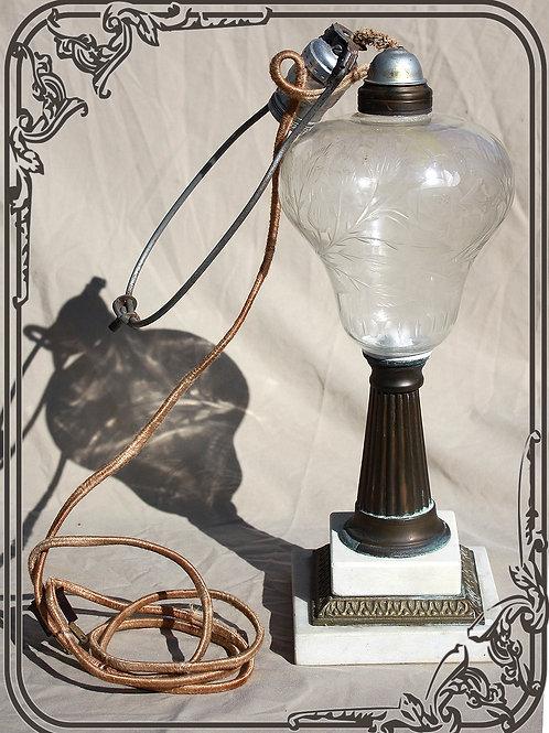 Vintage Lead Crystal Lamp