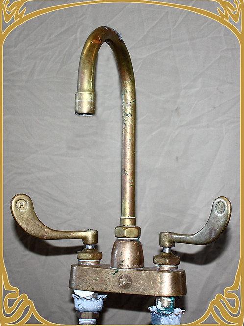 Vintage Brass Faucet