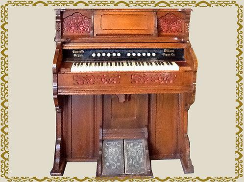 Antique Williams & CP Worth Pump Organ