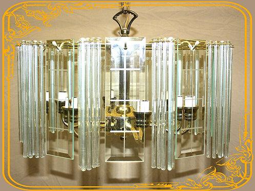 Glittering Glass Chandelier