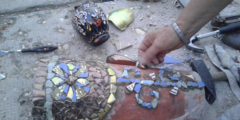 Mozaik és Gyermek Alkotóműhely együtt