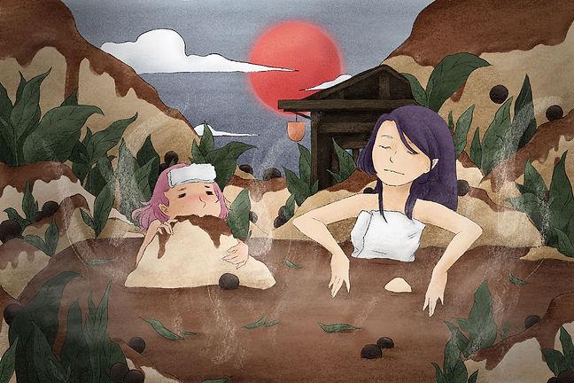 Boba hot spring