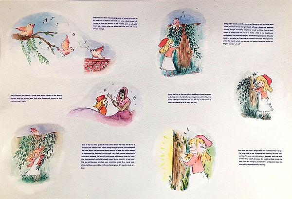 The Secret Garden (Vignettes Spread) - 2