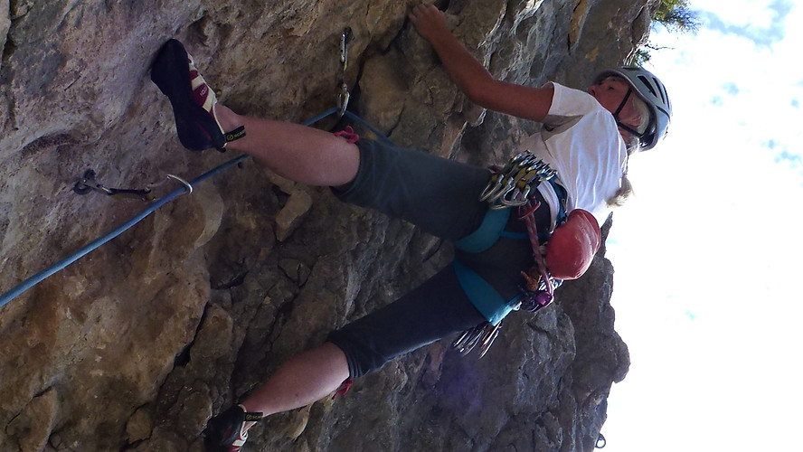 Rock climbing Spain