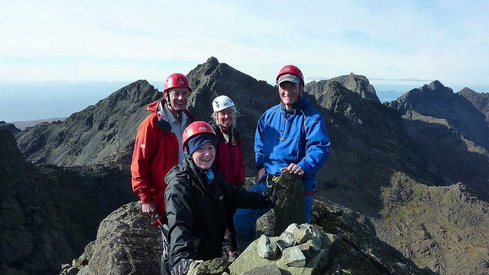 In Pinn & Cuillin Ridge Munros