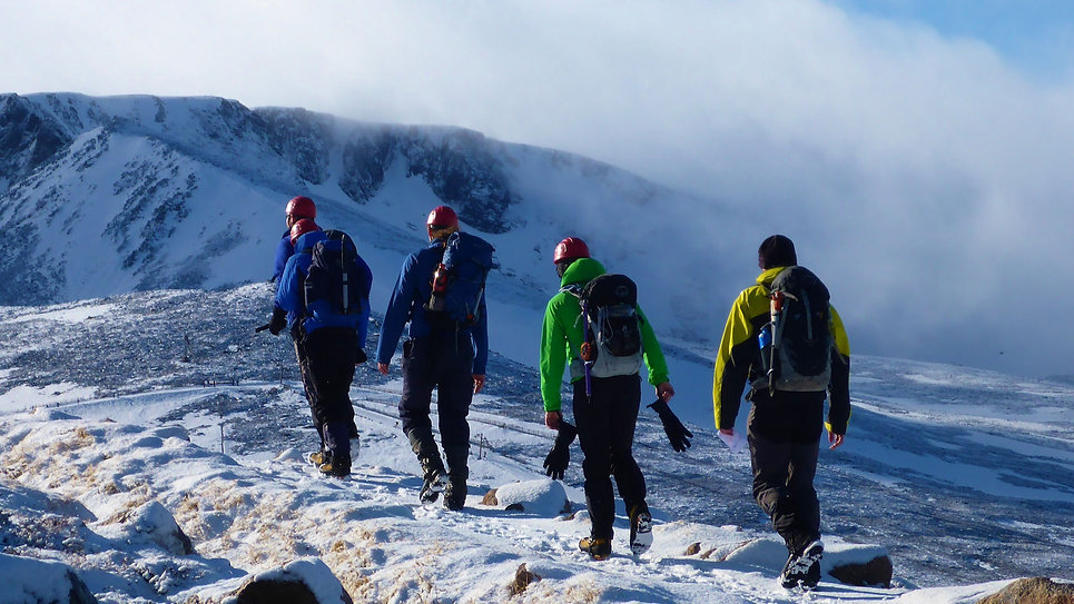 Winter Skills Course Cairngorm