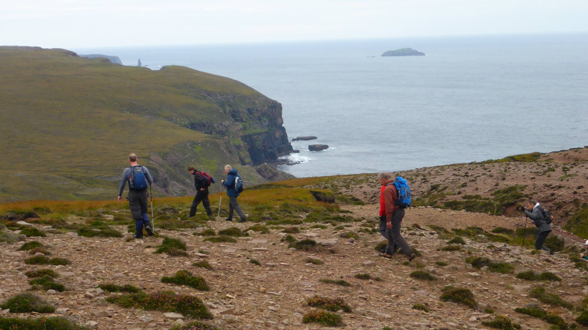 Trekking on the Cape Wrath trail