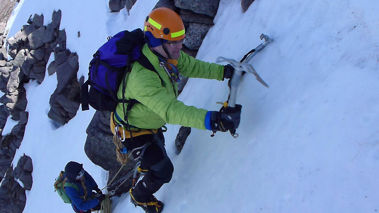 Guided Winter Climbing Course