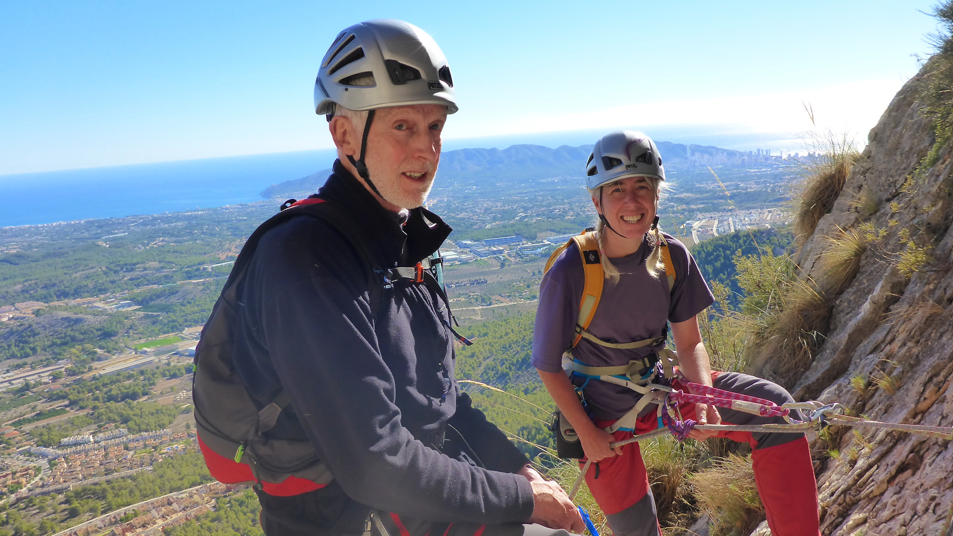 Guided Rock Climbing in Spain 2014
