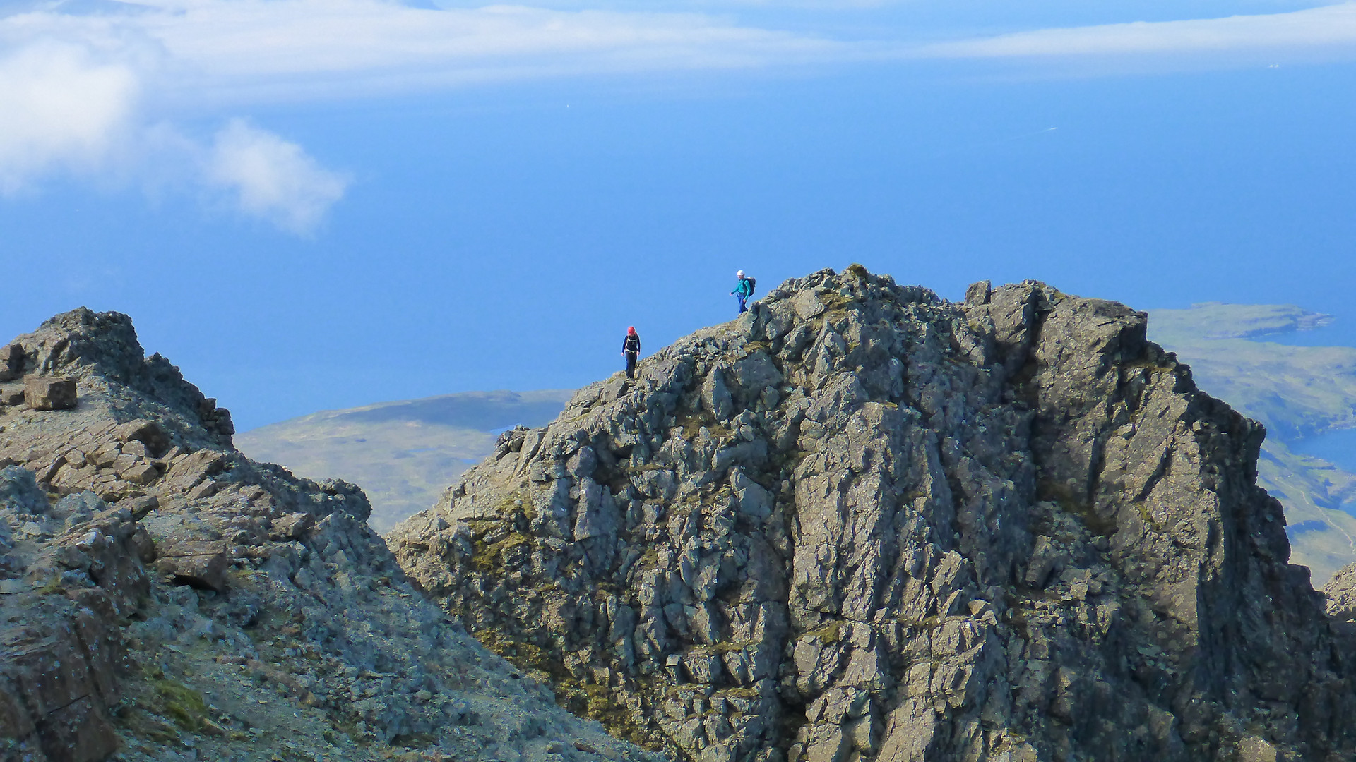 Guiding on the Skye Ridge