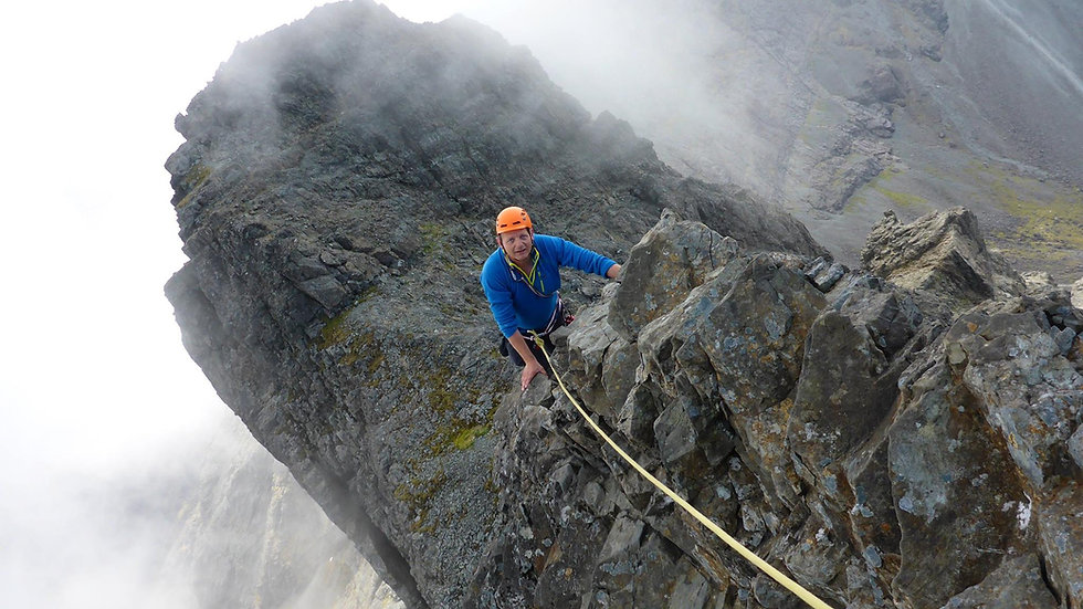 Scrambling and Mountaineering