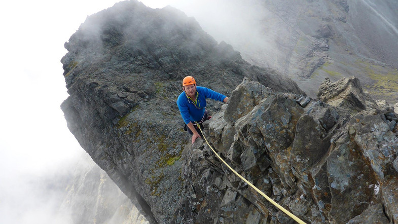 Cuillin Ridge In Pinn