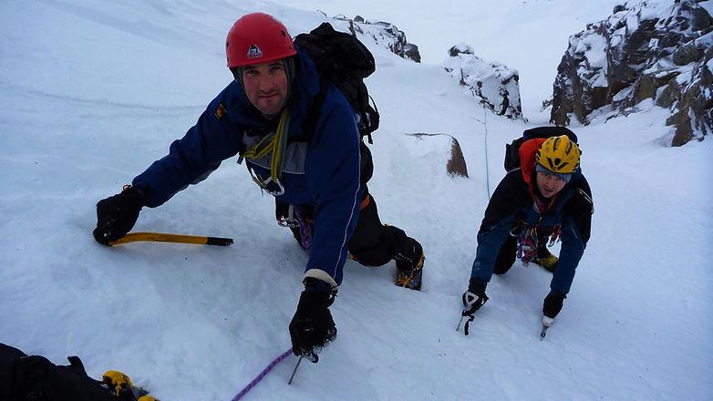 Scottish Winter Mountaineering Course