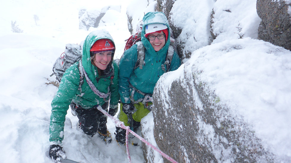 Cairngorm Winter Climbing Private Guiding and Instruction