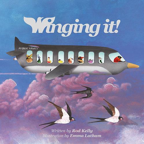 Winging it! Children's storybook