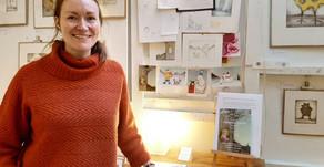 Meet the illustrator – Coburg House Art Studios Open Studio Weekend