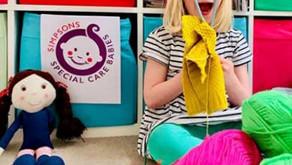 Specsavers bake sale & knit-athon