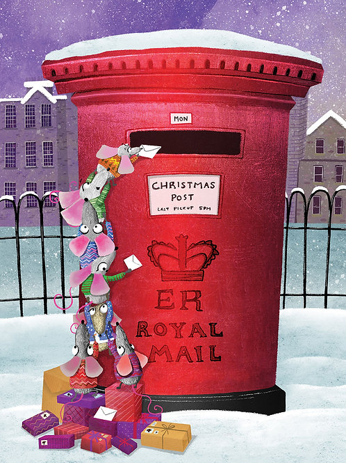 Mouse Mail - Christmas Cards