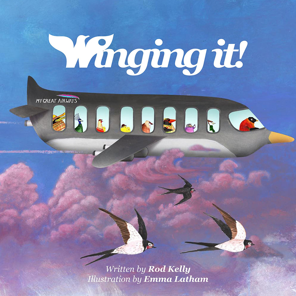 Winging it! Children's story book