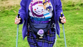 Kiltwalk Edinburgh Personal Best!