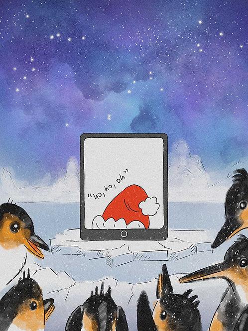 ho, ho, oh - Christmas Cards