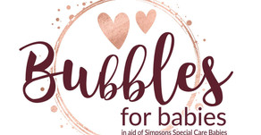 3 cheers Bubbles for Babies 3rd year!