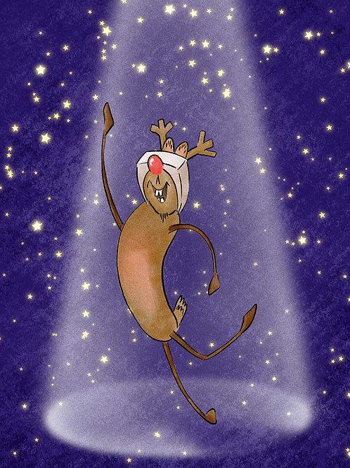 Dancer - Christmas Cards