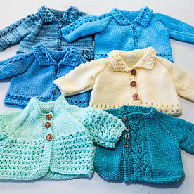 Knitting for premature babies charity
