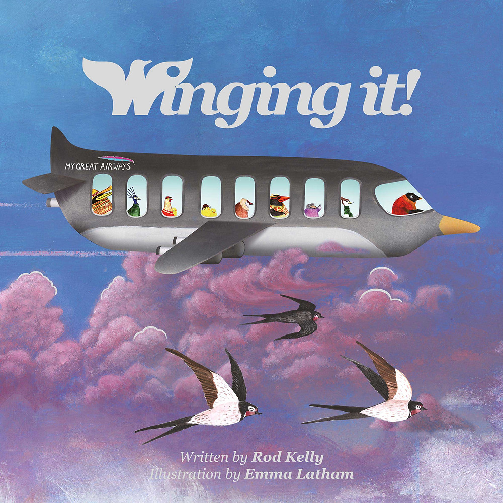 Winging it! Children's storybook