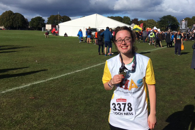 Claire recently completed the Loch Ness Marathon.