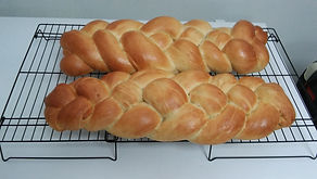 Homemad Challah Bread