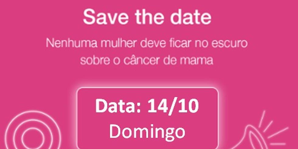 Ação da Avon caminhada contra o Câncer de Mama