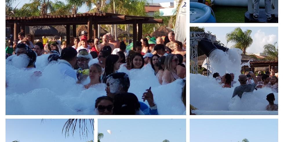 Festa da Espuma no Grand Palladium Imbassaí Resort