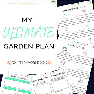 ultimate garden plan worksheets graphic(