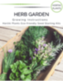 Herb Garden  Growing Instructions 11.22.